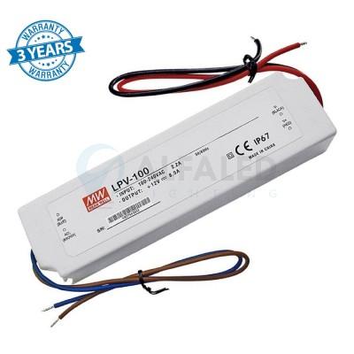 Napájací zdroj pre LED 100W/24V - vode odolný séria LPV