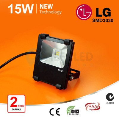 15W SMD LG LED reflektor s MIC senzorom - Premium series