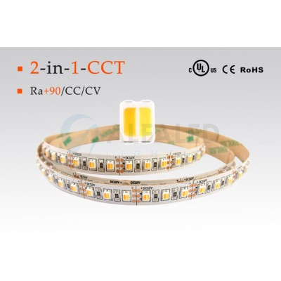 LED pás PREMIUM QUALITY 9,6W  60 LED/m - Dual White 2 in 1