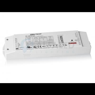 Bezdrôtovo ovládaný prúdový zdroj EASY AF-2504-75W-CC (250-1500mA)