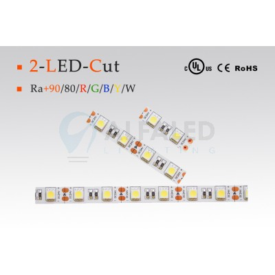 LED pás PREMIUM QUALITY 14,4W/24V 2-LED Cut - COLOUR