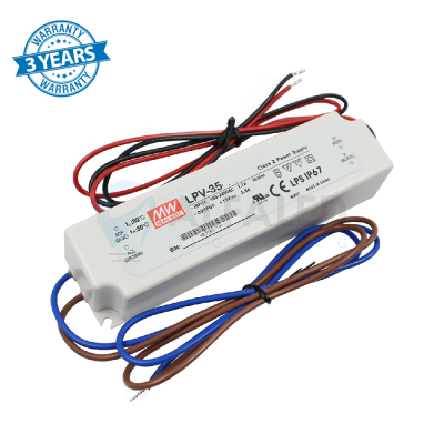 Napájací zdroj pre LED 35W/12V - vode odolný séria LPV