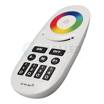 Diaľkový 4 zónový RGB a RGBW ovládač CLEVER - tlačidlový