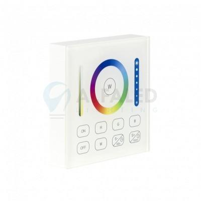 Bezdrôtový nástenný 1 zónový RGB+CCT ovládač CLEVER