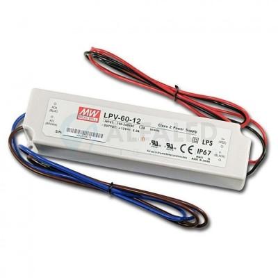 Napájací zdroj pre LED 60W/24V - vode odolný séria LPV