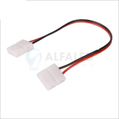 Spájací konektor zaklapávací pre 8mm LED pásy - 20cm