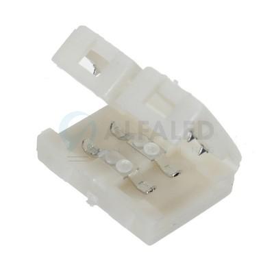 Spájací konektor zaklapávací pre 8mm LED pásy