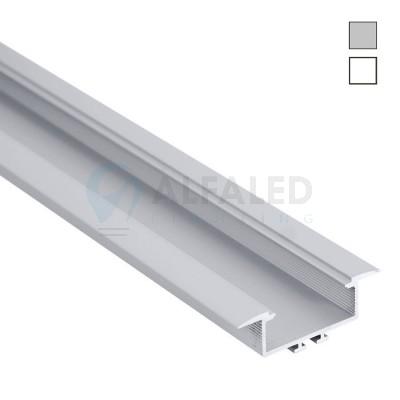Hliníkový profil AF30 48,6x16,5mm