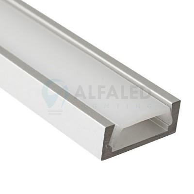 Hliníkový profil AF-BASIC 16,5x5mm