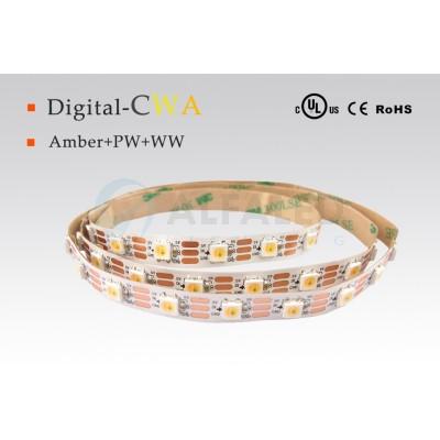 LED pás PREMIUM QUALITY 9W/5V CW+WW+AMBER - WS2811