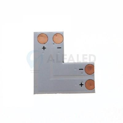 L konektor spájkovací pre 10mm LED pásy