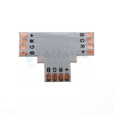 T konektor spájkovací pre RGB LED pásy