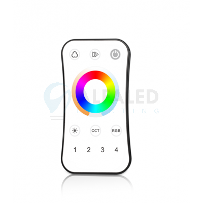 Diaľkový 4 zónový RGB+Dual White ovládač ATTRACTIVE – UNI W