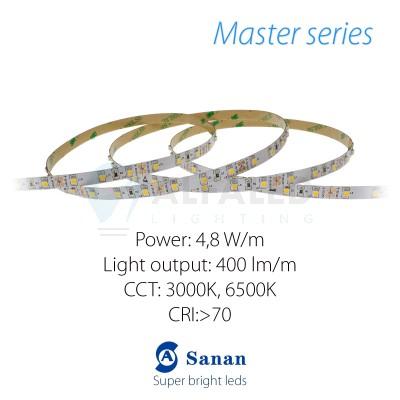 LED pás MASTER series 4,8W/12V, 60 LED/m 3528 OLD