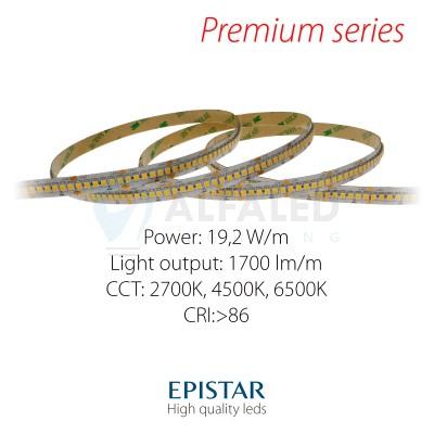 LED pás PREMIUM QUALITY 19,2W/24V High Density 240 LED/m