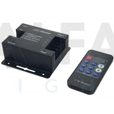 Riadiaci systém DM08 ECONOMY pre Jednofarebné osvetlenie RF