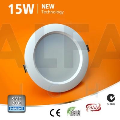 15W LED svietidlo kruh - Premium series