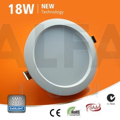 18W LED svietidlo kruh - Premium series