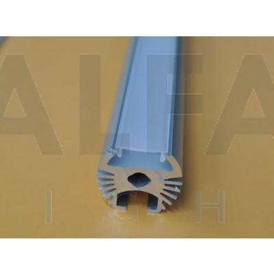 Hliníkový profil AF-KRUH 25mm