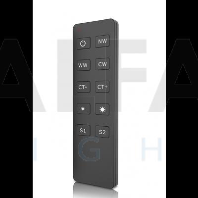 Diaľkový 1 zónový Dual White ovládač ATTRACTIVE – Slim