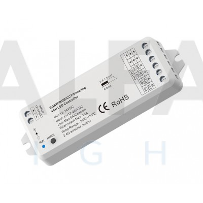 Riadiaca jednotka ATTRACTIVE pre Jednofarebné Dual White a RGB/W osvetlenie 15A