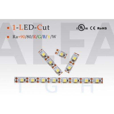 LED pás PREMIUM QUALITY 14,4W/12V 1-LED Cut - COLOUR