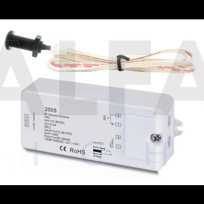Bezdotykový vypínač/stmievač IR 12-36V AF-2005