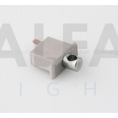 Záslepka MICRO-ALU (elektrický vodivá) sivá