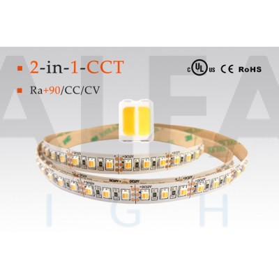 LED pás PREMIUM QUALITY 9,6W  60 LED/m - Dual White 2 in 1