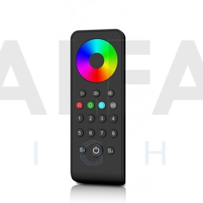 Diaľkový 8 zónový RGBW ovládač  ATTRACTIVE – Black