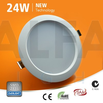 24W LED svietidlo kruh - Premium series
