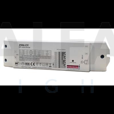 Bezdrôtovo ovládaný prúdový zdroj EASY AF-2504-50W-CC (250-1500mA)