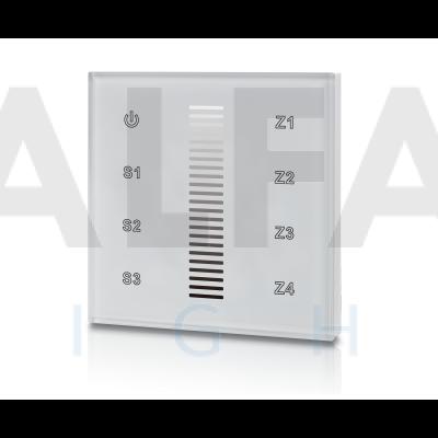 Bezdrôtový vstavaný 4 zónový stmievač PERFECT AF-2830AC DIM biely