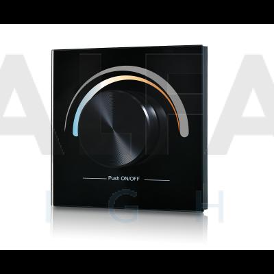 Bezdrôtový vstavaný Dual White ovládač PERFECT AF-2836 CCT čierny