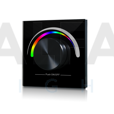 Bezdrôtový vstavaný RGB ovládač PERFECT AF-2836 RGB čierny