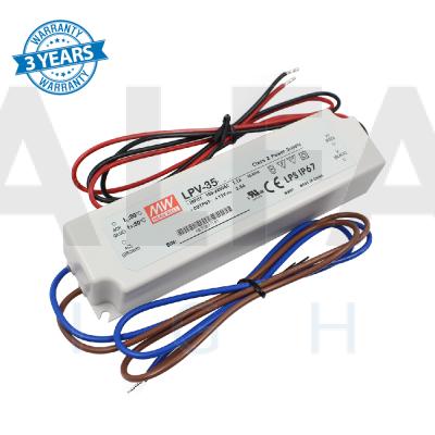 Napájací zdroj pre LED 35W/24V - vode odolný séria LPV