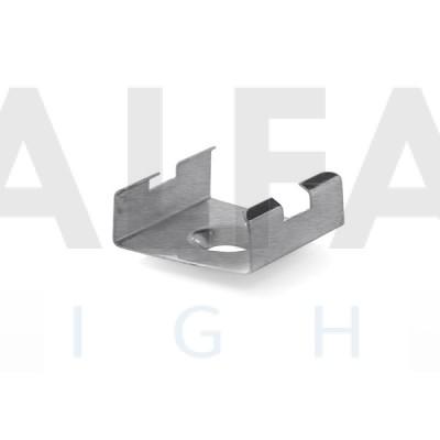 Profilový nerezový držiak 45-STN - Nerezový