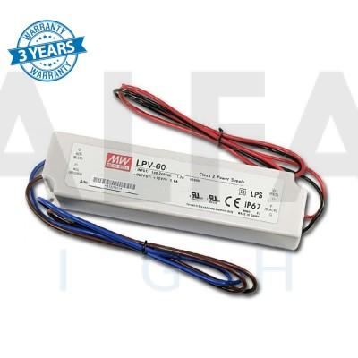 Napájací zdroj pre LED 60W/12V - vode odolný séria LPV