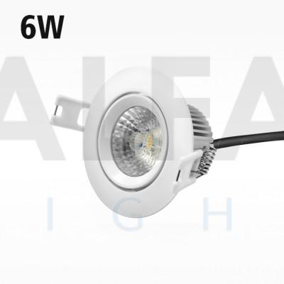 6W AC/COB SAMSUNG LED svietidlo W - Premium series