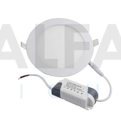 12W LED svietidlo kruh - BASIC series