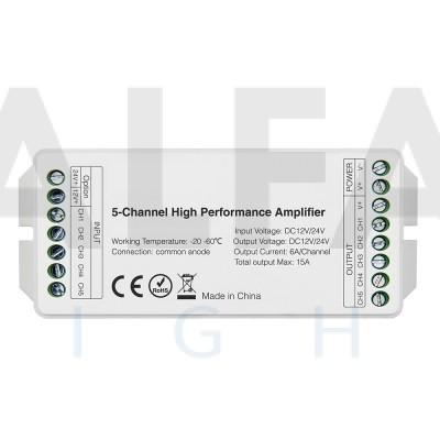 Vysoko rýchlostný zosilňovač 5 kanálový CLEVER