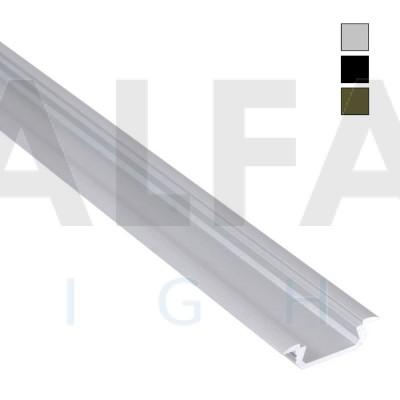 Hliníkový profil AF22 16x5mm