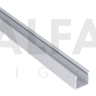 Hliníkový profil AF25 16x14mm