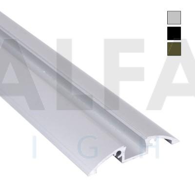 Hliníkový profil AF28 56x10mm