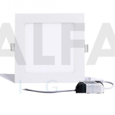9W LED svietidlo štvorec - BASIC series
