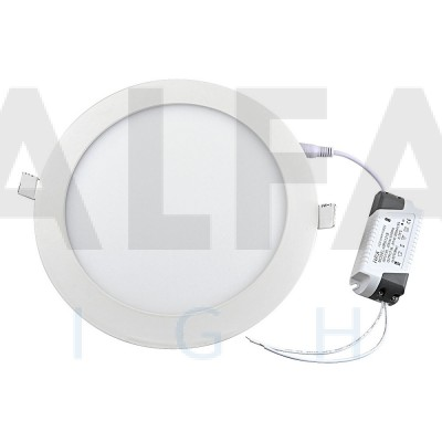 15W LED svietidlo kruh - BASIC series