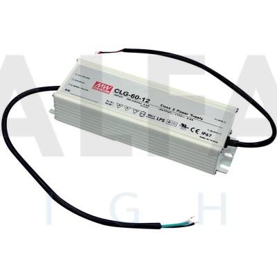 Napájací zdroj pre LED 60W/12V - vode odolný séria CLG