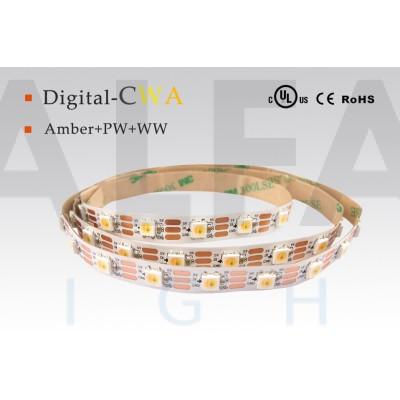 LED pás PREMIUM QUALITY 18W/5V CW+WW+AMBER - WS2811