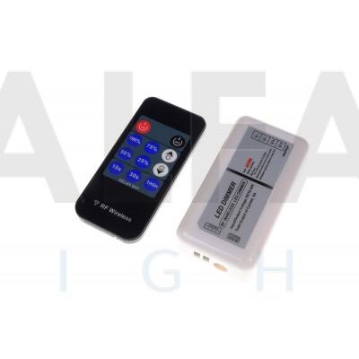 Riadiaci systém DM06 ECONOMY pre Jednofarebné osvetlenie RF