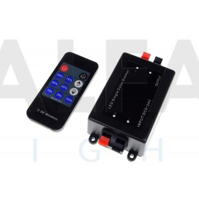 Riadiaci systém DM07 ECONOMY pre Jednofarebné osvetlenie RF